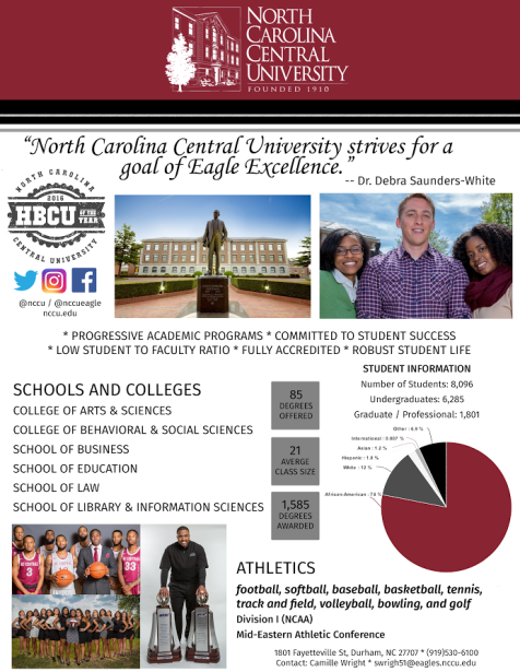nccu fact sheet